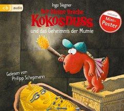 Der kleine Drache Kokosnuss und das Geheimnis der Mumie / Die Abenteuer des kleinen Drachen Kokosnuss Bd.13 (1 Audio-CD) - Siegner, Ingo