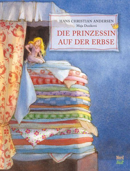 Prinzessin auf der erbse bett  Die Prinzessin auf der Erbse von Hans Christian Andersen - Buch ...
