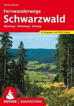 Schwarzwald Ferwanderwege - Kuhnle, Martin