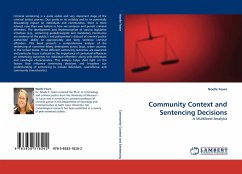 Community Context and Sentencing Decisions - Fearn, Noelle