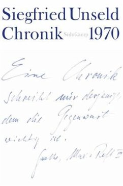 1970 / Chronik Bd.1 - Unseld, Siegfried