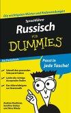 Sprachführer Russisch für Dummies Das Pocketbuch