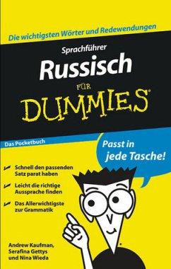 Sprachführer Russisch für Dummies Das Pocketbuch - Kaufman, Andrew; Gettys, Serafima