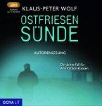 Ostfriesensünde / Ann Kathrin Klaasen ermittelt Bd.4 (3 Audio-CDs)