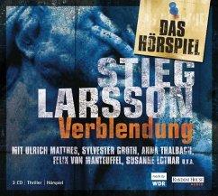 Verblendung / Millennium Bd.1 (3 Audio-CDs) - Larsson, Stieg