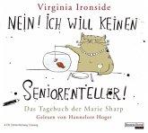 Nein! Ich will keinen Seniorenteller! / Marie Sharp Bd.1 (4 Audio-CDs)