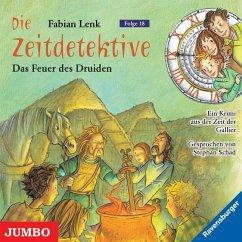 Das Feuer des Druiden / Die Zeitdetektive Bd.18 (1 Audio-CD) - Lenk, Fabian