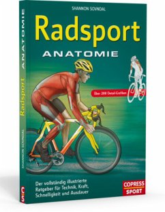 Radsport Anatomie