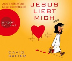 Jesus liebt mich, 4 Audio-CDs - Safier, David