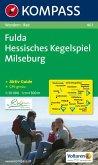 Kompass Karte Fulda, Hessisches Kegelspiel, Milseburg