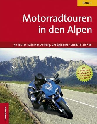 motorradtouren in den alpen buch. Black Bedroom Furniture Sets. Home Design Ideas