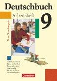 Deutschbuch - Neue Grundausgabe 9. Schuljahr. Arbeitsheft mit Lösungen