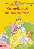 Rätselblock für Kuscheltage / Conni Gelbe Reihe Bd.8