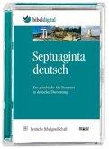Septuaginta Deutsch, 1 CD-ROM / Bibelausgaben