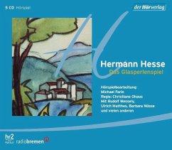 Das Glasperlenspiel, 5 Audio-CDs - Hesse, Hermann