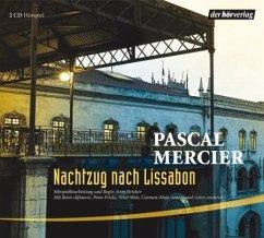 Nachtzug nach Lissabon, 2 Audio-CDs - Mercier, Pascal