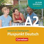1 Audio-CD (Lektion 8-14) / Pluspunkt Deutsch, Ausgabe 2009 Bd.A2/2
