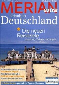 MERIAN extra Urlaub in Deutschland