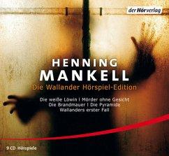Die Wallander Hörspiel-Edition, 9 Audio-CDs - Mankell, Henning