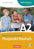 Pluspunkt Deutsch. Neue Ausgabe. Teilband 2 des Gesamtbandes 2 (Einheit 8-14). Arbeitsbuch mit CD
