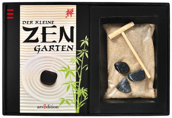 der kleine zen garten geschenkbox buch. Black Bedroom Furniture Sets. Home Design Ideas