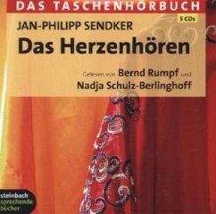 Das Herzenhören, 5 Audio-CDs - Sendker, Jan-Philipp