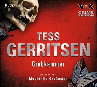Grabkammer, 6 Audio-CDs - Gerritsen, Tess
