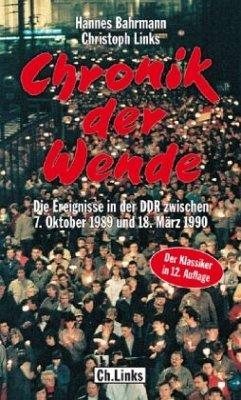 Chronik der Wende - Bahrmann, Hannes;Links, Christoph