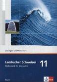 Lambacher Schweizer. 11. Schuljahr. Lösungen und Materialien. Bayern