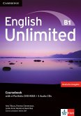English Unlimited B1 - Pre-Intermediate. Coursebook with e-Portfolio DVD-ROM + 3 Audio-CDs