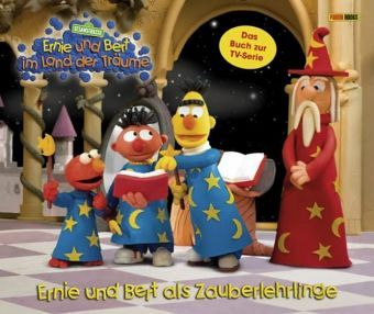 ernie und bert als zauberlehrlinge ernie und bert im. Black Bedroom Furniture Sets. Home Design Ideas