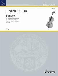 Sonate E-Dur Violoncello und Klavier.