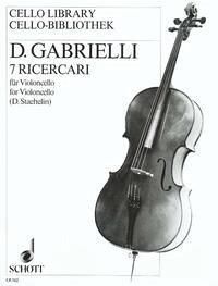 7 Ricercari Violoncello.