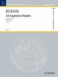 24 Caprices-Études op.26, für Flöte