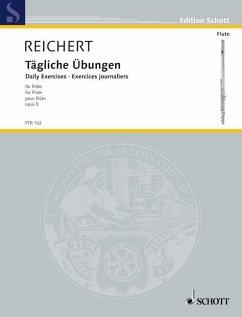 Tägliche Übungen op.5, Flöte
