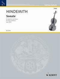 Sonate. op. 25/4. Bratsche und Klavier