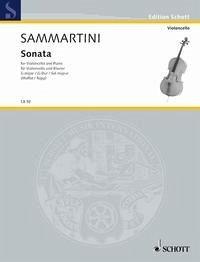 Sonata G-Dur Violoncello und Klavier.