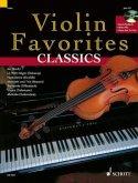Violin Favorites Classics, für Violine und Klavier ad lib., m. Audio-CD