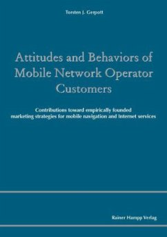 Attitudes and Behaviors of Mobile Network Opera...