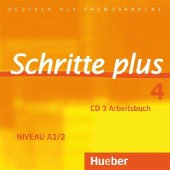 1 Audio-CD zum Arbeitsbuch / Schritte plus - Deutsch als Fremdsprache Bd.4