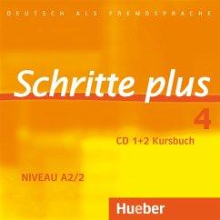 2 Audio-CDs zum Kursbuch / Schritte plus - Deutsch als Fremdsprache Bd.4 - Hilpert, Silke; Kerner, Marion; Niebisch, Daniela; Specht, Franz; Weers, Dörte; Krämer-Kienle, Isabel; Orth-Chambah, Jutta