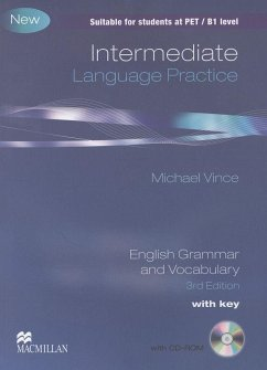 Intermediate Language Practice. Student's Book with CD-ROM and key - Vince, Michael