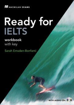 Workbook with key, w. 2 Audio-CDs / Ready for IELTS
