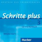 2 Audio-CDs zum Kursbuch / Schritte plus - Deutsch als Fremdsprache Bd.3