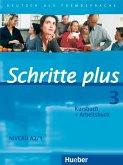 Schritte plus 3. Kursbuch + Arbeitsbuch