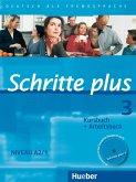 Schritte plus 3. Kursbuch + Arbeitsbuch mit Audio-CD zum Arbeitsbuch