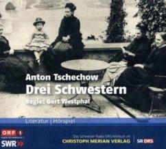 Drei Schwestern, 2 Audio-CDs - Tschechow, Anton