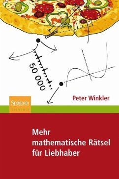 Mehr mathematische Rätsel für Liebhaber - Winkler, Peter