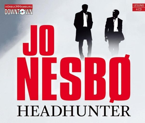 Headhunter, 4 Audio-CDs - Nesbø, Jo