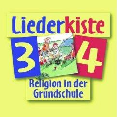 3./4. Jahrgangsstufe, Liederkiste, 1 Audio-CD / fragen - suchen - entdecken, Ausgabe Bayern u. Nordrhein-Westfalen - Heitmeier, Ulla Leder, Margot Friemel, Doris